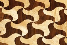 Trefoil LTD2 Artistic Parquet by Nomad Inception. Hardwood floor designed by the Molina Brothers: This traditional pattern made out of intersecting circles provides great room for creativity, as tiles of different colors can be combined to bring the floor to life...
