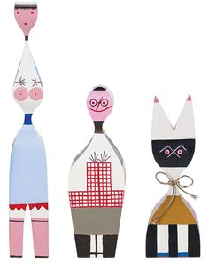 Alexander Girard's wooden dolls