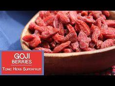 (3) Goji Berries, A Tonic Herb and Superfruit Variety - YouTube Orange Fruit, Sausage, Berries, Herbs, Breakfast, Health, Youtube, Food, Diy