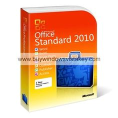 Office Standard 2010 64 Bit Product Key
