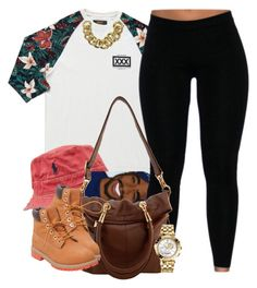 """Today's Calm."" by livelifefreelyy ❤ liked on Polyvore featuring Polo Ralph Lauren, Timberland, ASOS and Versace"