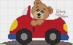 Super ideas for crochet baby blanket chart cross stitch Cross Stitch For Kids, Cross Stitch Baby, Cross Stitch Animals, Cross Stitch Charts, Cross Stitch Designs, Cross Stitch Patterns, Baby Knitting Patterns, Baby Patterns, Newborn Crochet