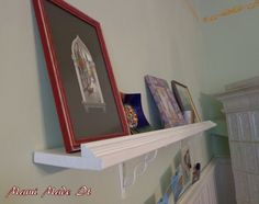 DIY Picture Shelf - Bilderregal