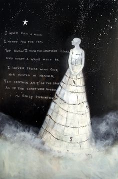 Quote:Emily Dickenson. Illustrated by Jeanie Tomanek