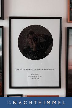 Look - what a beautiful poster! Create your unique and personal star map with your date of birth or the anniversary with your partner. This is a truly exceptional and creative gift and a great furnishing idea for everyone who loves astrology.
