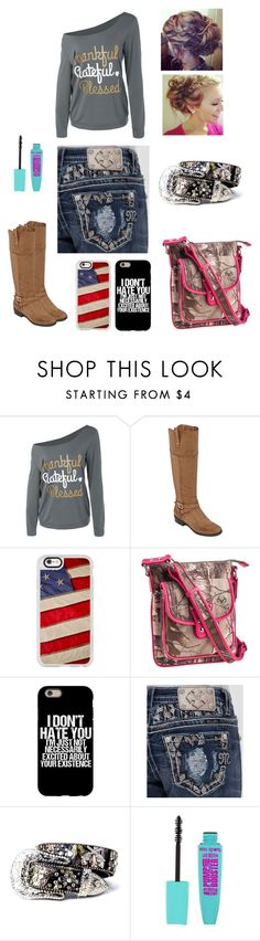 """""""Going To Thanksgiving Day!"""" by gigglynoelle6 on Polyvore featuring Liz Claiborne, Casetify, Emperia and Miss Me"""