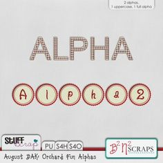Aug BAK: Orchard Fun Alpha by B2N2 Scraps