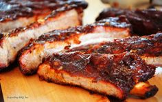 Great barbecue ribs from a gas grill is possible. Be patient and attentive and these pork ribs will become a favorite.