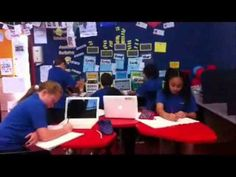 Connected Classroom at Summerland School New Zealand part 1