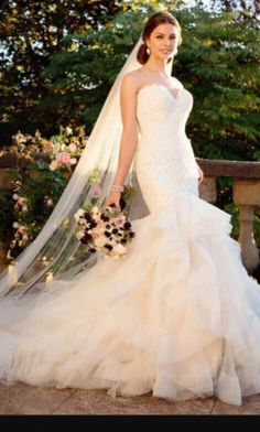 Essense of Australia wedding dress currently for sale at 11% off retail.