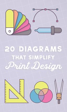20 quick visual guides, cheat sheets, and infographics from an international community of printing and design pros to help you make the best choices when preparing a project for print.