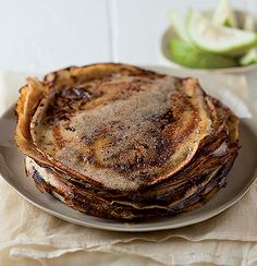Caramelised buttery pancakes Waffle Recipes, Sweet Bread, Fritters, Pancakes, Waffles, Let Them Eat Cake, Soul Food, Caramel, Brunch