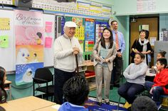 Visiting PS 001, a public school in Bronx, New York that has made Brain Education method an intricate part of the school.