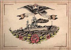... flash art on Pinterest | Vintage tattoos Traditional tattoo flash and