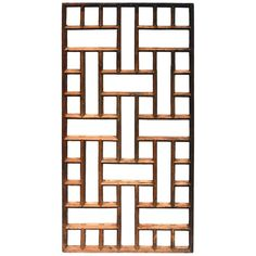 View this item and discover similar for sale at - A century screen with geometric design. Window Grill Design Modern, Balcony Grill Design, Grill Door Design, Window Design, Steel Grill Design, Home Grill Design, Modern Door, Modern Wall Decor, Steel Gate Design