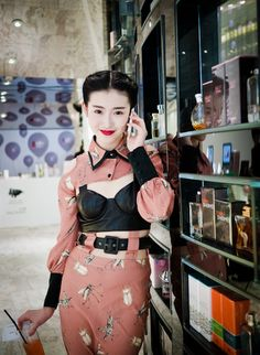 辛苑 Lane Crawford Beijing Opening Ceremony China Street Style 连卡佛 北京