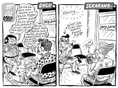Mice Cartoon: Hening (Kompas, 8 September 2013) Design Thinking, Just For Fun, Comic Strips, Funny Jokes, Haha, Animation, My Love, Meme, Funny Stuff
