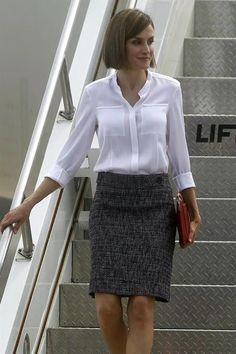 Queen Letizia of Spain visits Honduras 25/05/2015
