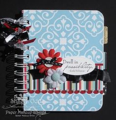Yellow Umbrella Designs: Altered Notebook