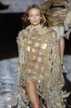 Roberto Cavalli..runway fabulous bikini cover-up..