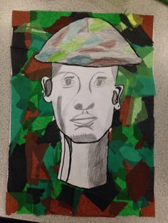 Soldier art ks2