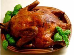 Beim Entenbraten die Garzeit richtig kalkulieren - YouTube Food And Drink, Turkey, Chicken, Youtube, Meat, Cooking School, Healthy Recipes, Food And Drinks, Cooking
