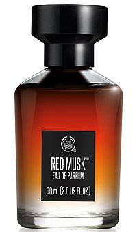 The Body Shop Red Musk: Red, White and New
