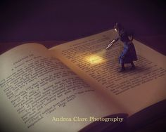 Photographer: Andrea Clare Title: The Secret of the Old Book Size: inch print *Printed by a Professional Lab on the highest quality Surrealism Photography, Fantasy Photography, Book Photography, Creative Photography, Miniature Photography, I Love Books, Good Books, Surreal Photos, Reading Art