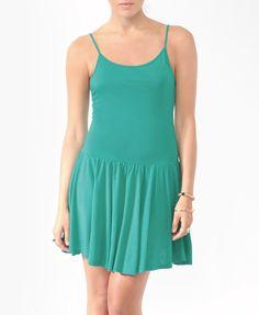 $8 Basic Dropped Waist Dress