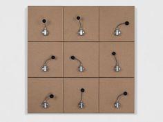 Zimoun artwork at bitforms gallery, New York City | bitforms gallery