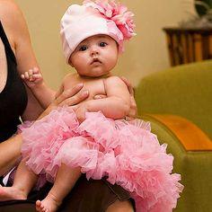 Baby Pink Newborn Pettiskirt from PoshTots