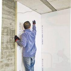 comment isoler de l 39 int rieur un mur humide isolation ext rieure des murs isoler un mur par. Black Bedroom Furniture Sets. Home Design Ideas