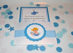 Cinderella Birthday  Party Invitations by YourPartyShoppe on Etsy