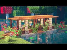 Art Minecraft, Minecraft Bridges, Minecraft House Plans, Minecraft Mansion, Minecraft Structures, Minecraft Cottage, Easy Minecraft Houses, Minecraft House Tutorials, Minecraft House Designs