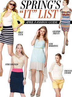 """Most Wanted: @Nordstrom updated Spring's """"It"""" List Fashion Guide for April with all their favorite trends and newest pieces to wear—including styling tips."""