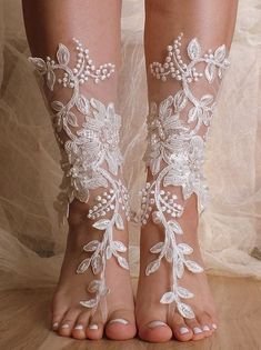 With my AS, I can't wear heels, this would be so cute, even if it's not a beach wedding