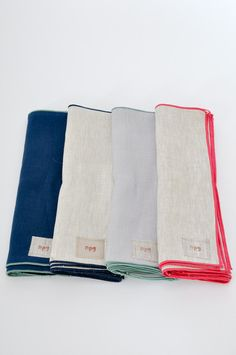 Everyday Napkins - hand crafted housewarming gift ideas.