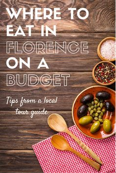 where to eat in florence on a budget