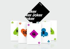 Sam Dallyn recently created these beautifully minimal playing cards as a personal project.