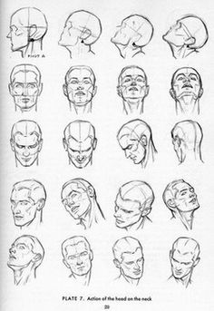 dc98c6b88b How to Draw a Face - 25 Step by Step Drawings and Video Tutorials - 20 face  drawings