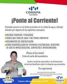 La COMAPA Victoria está ofreciendo descuentos de multas y facilidades de pagos
