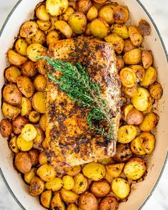 Lemon Garlic Pork Roast - Jo Cooks Pork Loin Recipes Oven, Roast Recipes, Lemon Recipes, Pork Recipes, Real Food Recipes, Cooking Recipes, Pork Marinade, Pork Roast, Main Meals