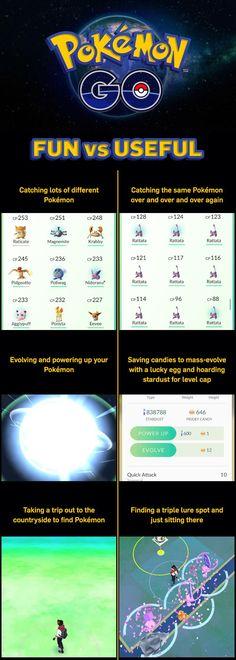 Fun vs Useful #PokemonGO