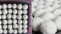 Nepečené vianočné kokosové guľky takmer bez cukru. Ideálna pochúťka nielen na Vianoce… |