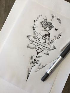 Ideas for Amazing Designs of Tattoo Designs . - Yoga - Tattoo Designs For Women Ideas for Amazing Designs of Tattoo Designs . - Yoga - Tattoo Designs For Women Yoga Tattoos, Body Art Tattoos, Tattoo Drawings, Tatoos, Hand Tattoos, Pencil Drawings, Unalome Tattoo, Arm Tattoo, Sleeve Tattoos