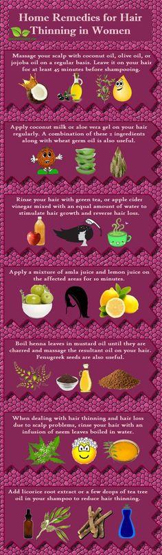 home remedies for hair thinning in women #diyremedy #diyhair