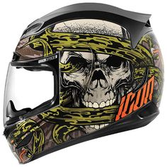 Search results for: 'icon airmada vitriol motorcycle helmet' Street Bike Helmets, Full Face Motorcycle Helmets, Full Face Helmets, Motorcycle Outfit, Street Bikes, Icon Motorsports, Icon Helmets, Skull Helmet, Helmet Paint