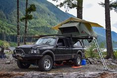 Truck Canopy Camping, Ford Ranger Truck, Overland Truck, Bushcraft, Edc, Offroad, Trucks, Vehicles, Ideas