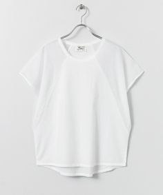かぐれ(カグレ)のbeaumont organic BECCA(Tシャツ/カットソー)|ホワイト