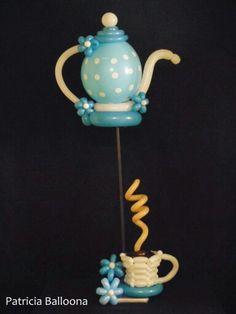 Tea #decoration#balloon